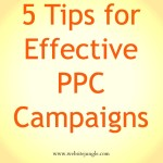5 tips for effective PPC campaigns | Digital Marketing Company | WebsiteJungle.com