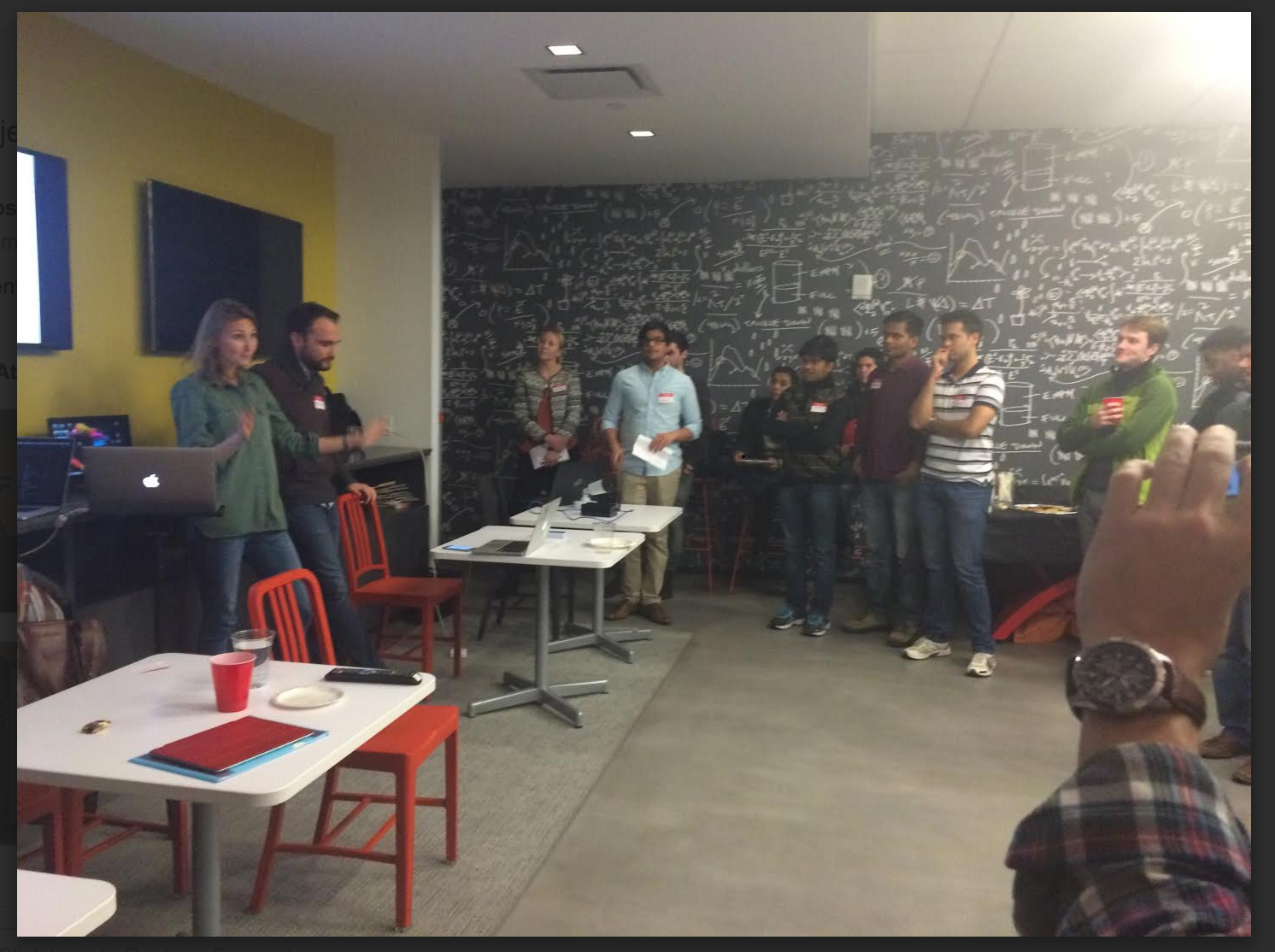 Permalink to Website Jungle at Jersey City Technology StartUps Event